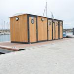Schwimmende sanitäre Anlage Sète POLYWAY