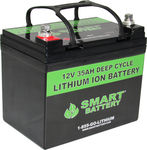 Deep-Cycle-Batterie / 12V / Ionen / Lithium