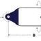 Fender zur Anwendung auf Booten / zylindrisch / aufblasbar
