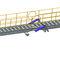 Gangway für Stege / für Schiffe / Teleskop / mit Gelenk