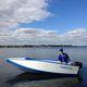 Offenes Boot / Außenbord / faltbar / Open / für Angelsport