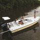 Flat-Boat / Außenbord / Mittelkonsole / Sportfischer / 6 Plätze
