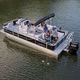 Außenbord-Pontonboot / tri-tube / Sportfischer / max. 12 Personen