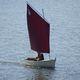 taditionelles offenes- Segel und Ruderboot / mit offenem Heck / Gaffelsegel / transportierbar