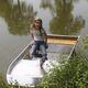 Offenes Boot / Außenbord / für Angelsport / Aluminium
