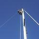 Lift für Segelboote / Mast