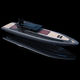 Innenborder-Schlauchboot / Festrumpf / mit geschlossenem Cockpit / mit Kabine