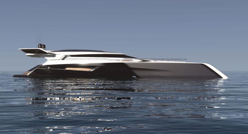 Futuristische luxusyachten  Dieser futuristische Trimaran-Yachtentwurf schaut unglaublich ...