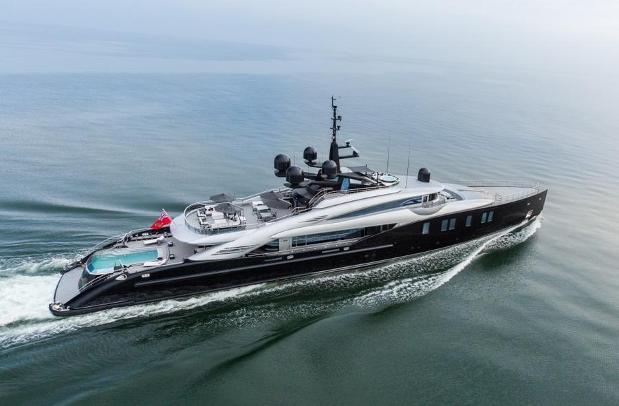 Fußboden Yacht ~ Superyacht der woche isa yacht s glätten meter okto italy