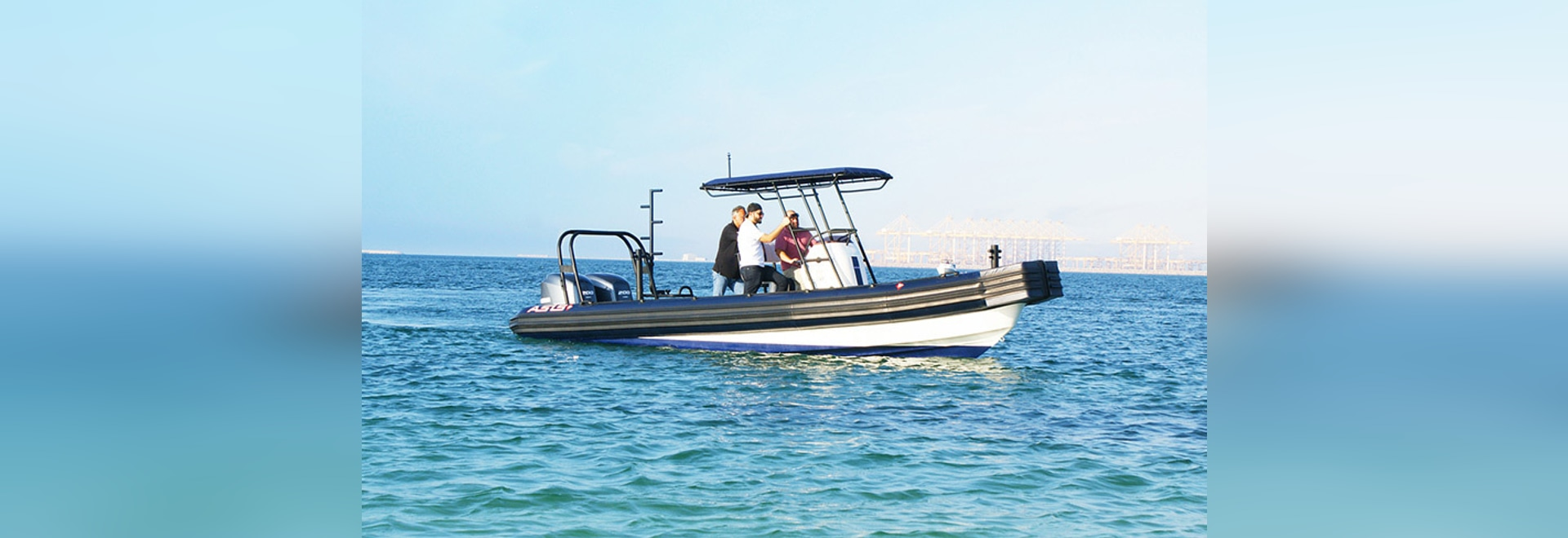 Marina Operations Rigid Inflatable Boat