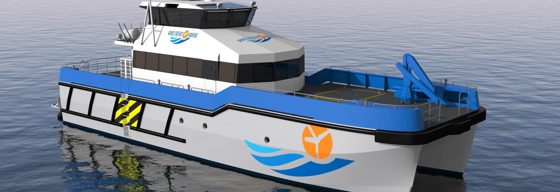 PIRIOU sichert einen Auftrag für zwei Windparkunterstützungsschiffe für WIND-ENERGIE-MARINESOLDATEN