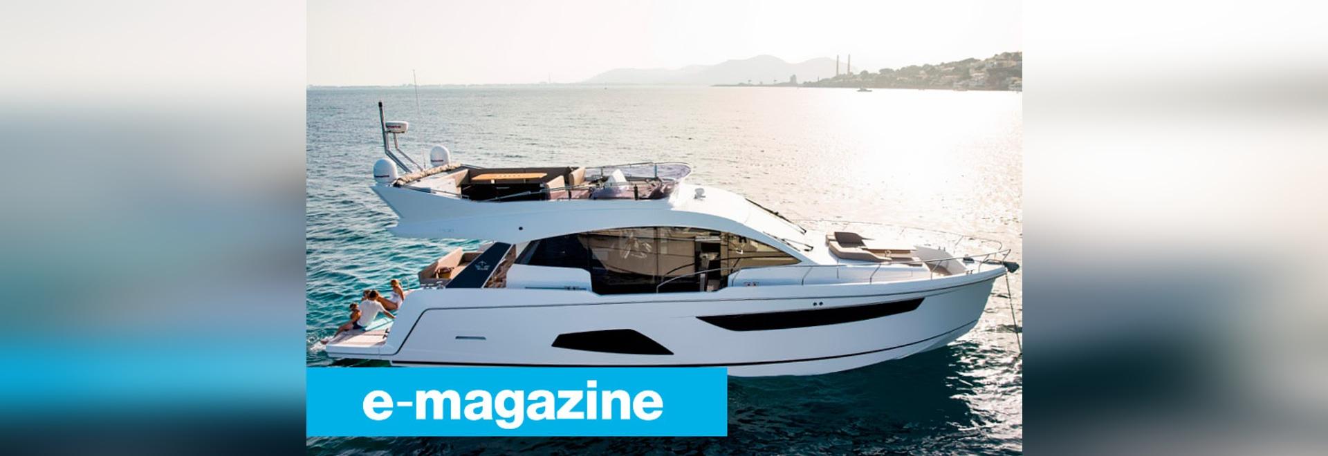 Sealine F530: Die Yacht als Aufenthaltsraum