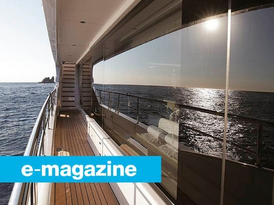 Glasieren am Cannes-Segelsport-Festival
