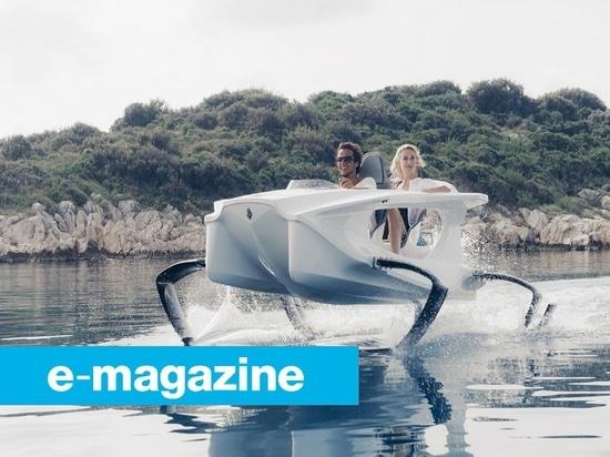 Die innovative Übertreibung von Tragflügelbooten
