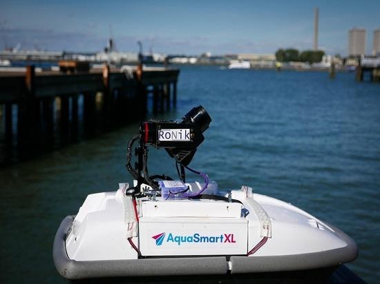 Gehendes Grün drückt ROV-Technologie zum Vorderteil