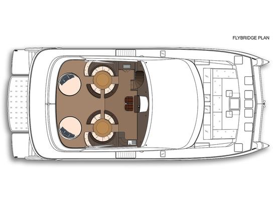 Dreiplattform-Katamarankonzept die 25m Amasea-Yachten