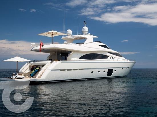 Neuer Eigentümer für 27m Ferretti Yacht Avec