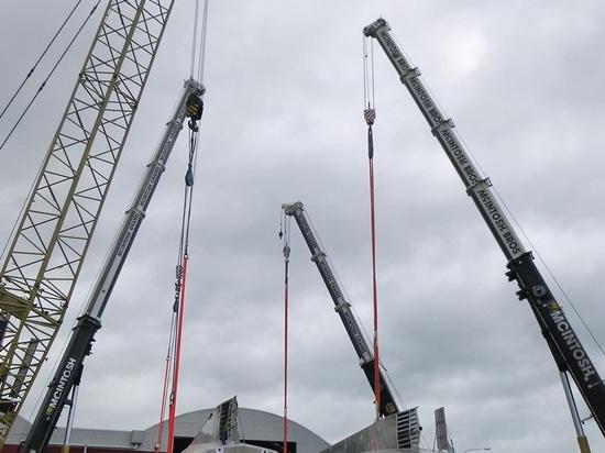 39m Profab Technik superyacht das Tier nähert sich Fertigstellung