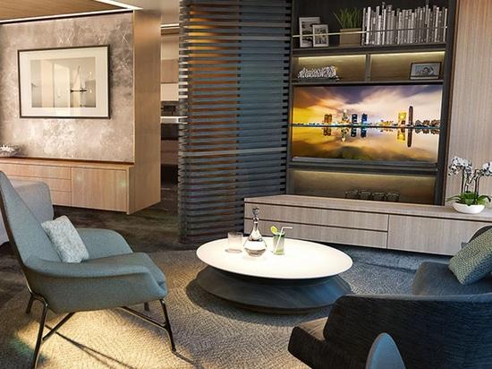 Design Unlimited enthüllt das Innere von Sunseeker 161