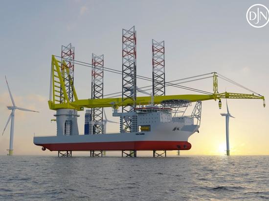 Der hochspezialisierte Installateur wurde für die nächste Turbinengeneration entwickelt