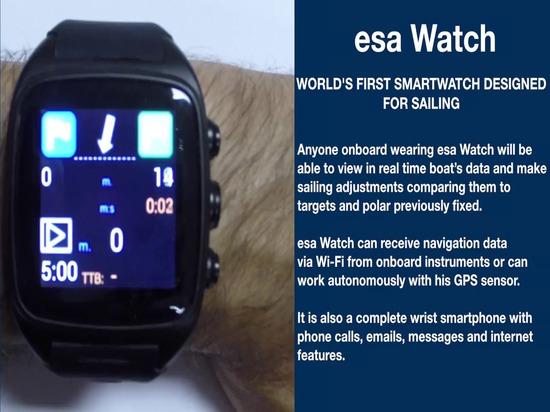 esa-Uhr: das erste smartwatch der Welt bestimmt für das Segeln