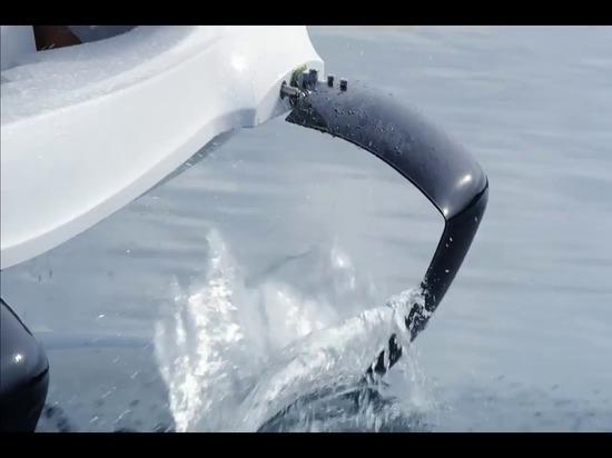 Quadrofoil - überraschendes elektrisches Tragflügelboot der Zukunft