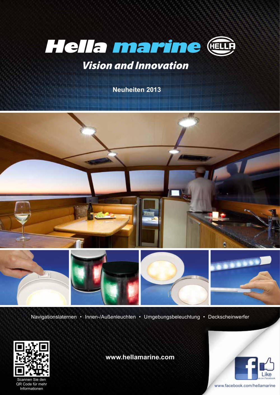 Hella Beleuchtung Katalog Pdf | New Product Supplement 2013 Hella Marine Pdf Katalog