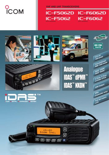 IC-F5062D, IC-F6062D