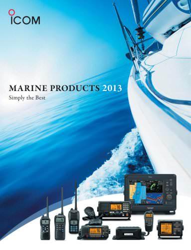 MARINE PRODUCTS 2013