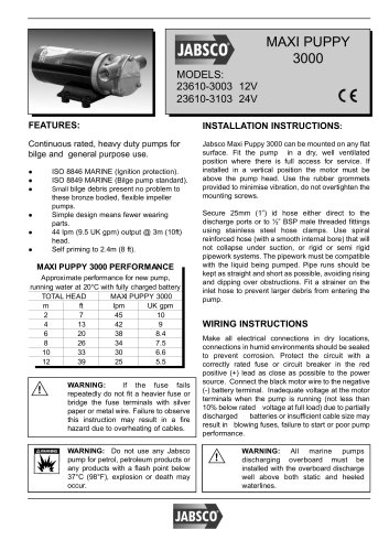 23610 Technical Datasheet