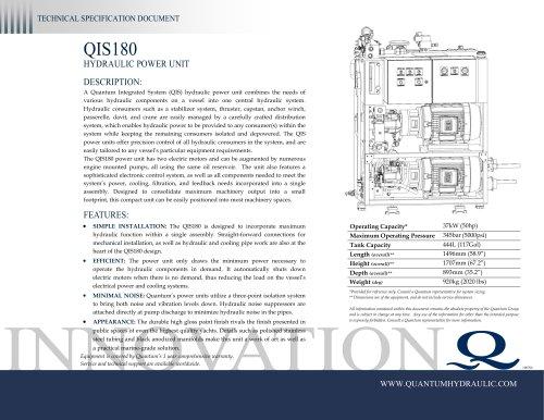 Quantum HPU QIS180