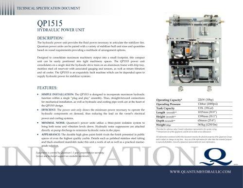 Quantum HPU QP1515