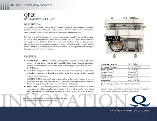 Quantum HPU QP20