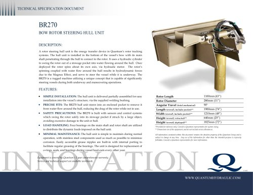 QuantumSteering BR270