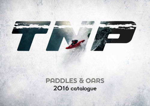 paddles & oars 2016 catalogue