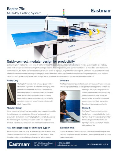 Automated product Brochure