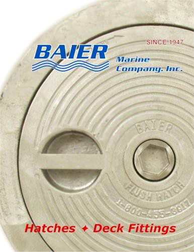 Baier Marine Hatches, Deck Fittings and Doors