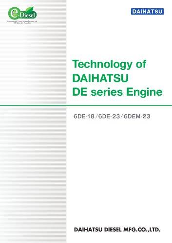Technology of DAIHATSU DE series Engine