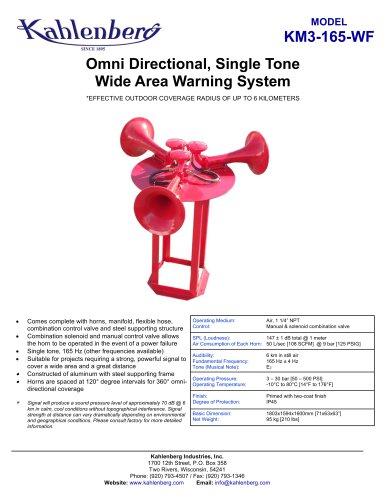 KM3-165-WF Air Alarm