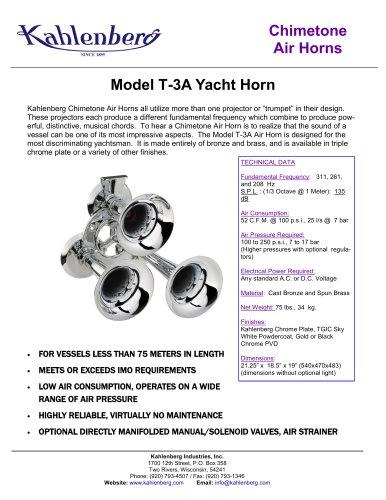 Model Q-3A Yacht Horn