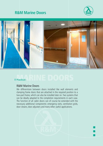 R&M Marine Doors
