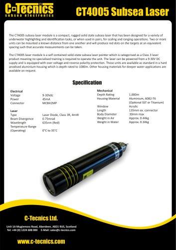 CT4005 Subsea Laser