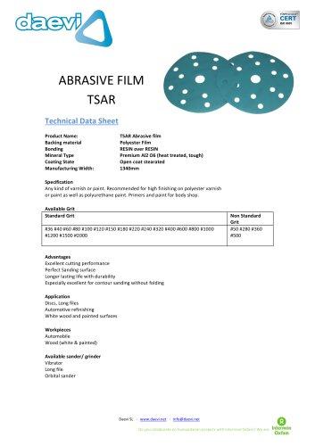 Abrasive sanding disc