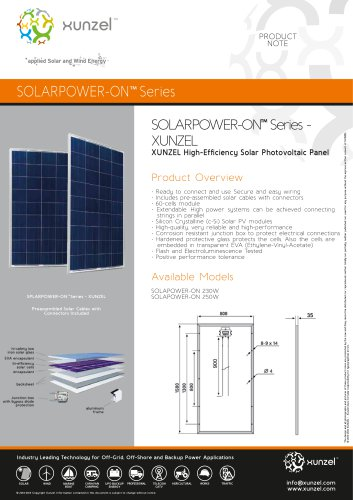 SOLARPOWER-ON™ Series