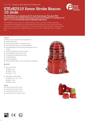 STExB2X10 Xenon Strobe Beacon 10 Joule