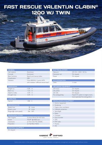 Fast Rescue Valentijn Clabin 1200 WJ Twin