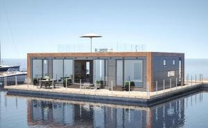 Schwimmende Häuser, Hausboote