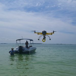 Quadrikopter-Drohne