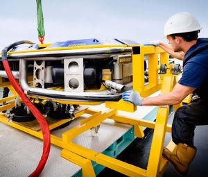 Unterwasser-ROV / zur Rumpf-Reinigung