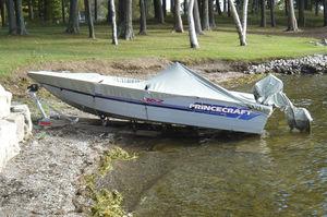 Rampe für Boote